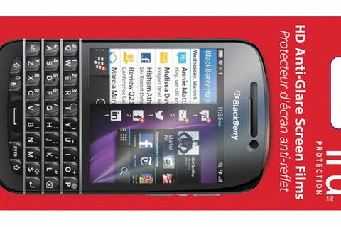 Save 55% today on this 2-pack of screen protectors for BlackBerry Q10