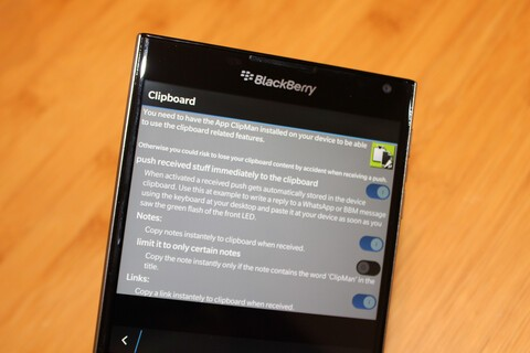 BlackBullet adds cloud sync for ClipMan Clipboard Manager