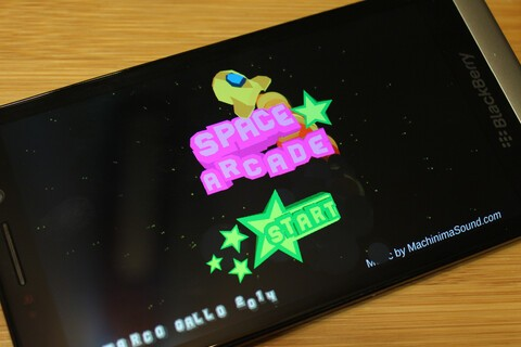 Relive your childhood with Space Arcade for BlackBerry 10