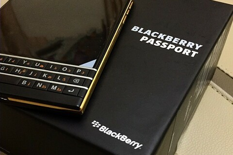 BlackBerry Passport Gold Edition spotted looking luxurious