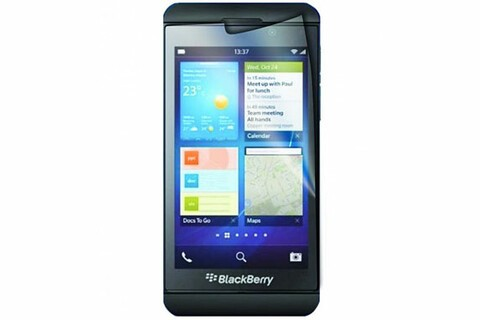 These BlackBerry Z10 anti-glare screen protectors are $9.95 today! That's 50% off