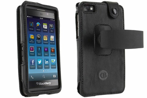 This slim leather case for BlackBerry Z10 is 50% off today!