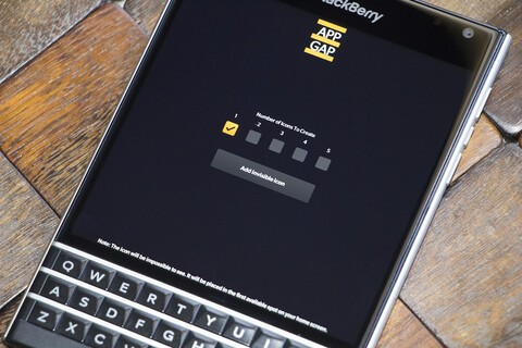 Organize your home screen with App Gap for BlackBerry 10