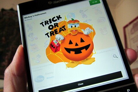 Trick or Treat this Halloween with Mickey and Friends Halloween BBM Stickers
