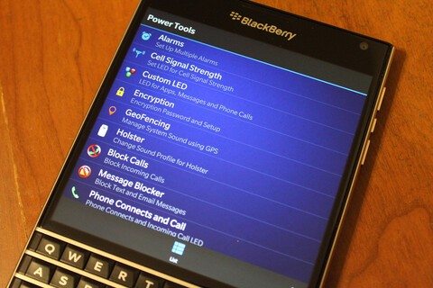 Power Tools updated with new features and support for the Blackberry Passport