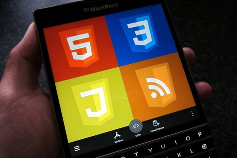 Web Design Cheat Sheet updated to support the BlackBerry Passport and 10.3