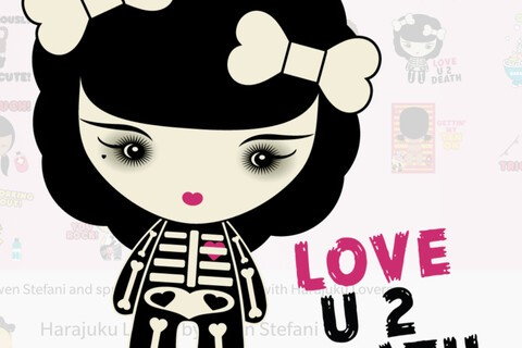 Harajuku Lovers by Gwen Stefani BBM stickers now available
