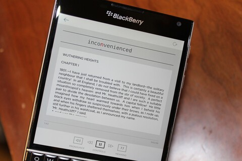 Double your reading speed with Bolt-Fast Reader for BlackBerry 10