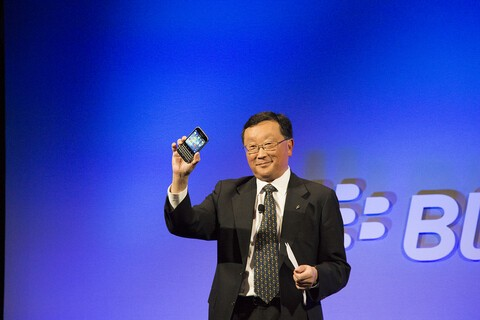 John Chen discusses privacy, security and BlackBerry's hardware business