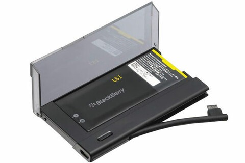 Get this BlackBerry Z10 Battery Charger Bundle today for only $24.95—that's 50% off!