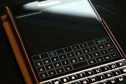 Avoid disturbing others while typing on your physical keyboard device with Silent Keys