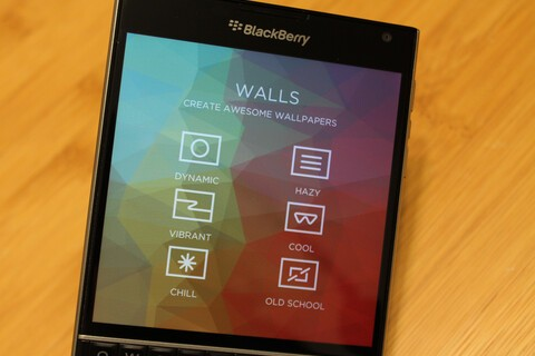 Create custom polygonal wallpapers with Walls for BlackBerry 10