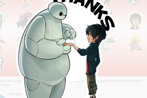 Big Hero 6 and Puss in Boots BBM Stickers now available