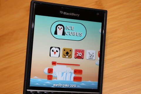 Get hours of arcade fun with Ice Cubes for BlackBerry 10