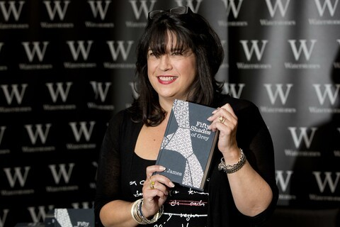 Much of 'Fifty Shades of Grey' was written on a BlackBerry