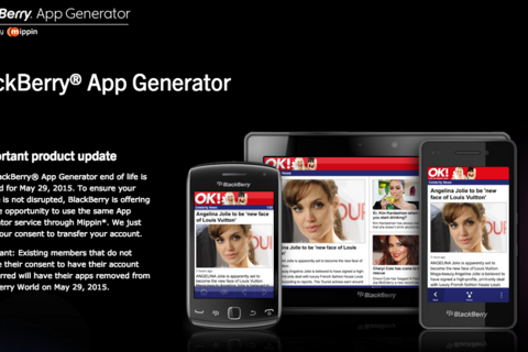 BlackBerry App Generator