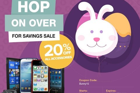 ShopCrackBerry Easter Sale: 20% off all BlackBerry accessories!