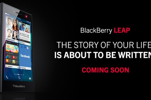BlackBerry announces the BlackBerry Leap!