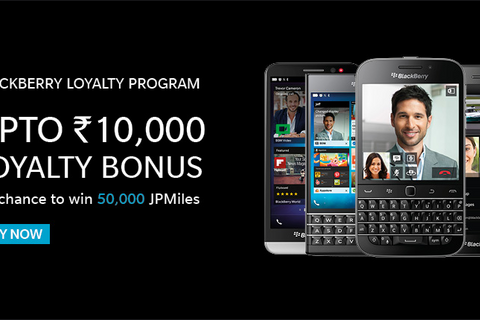 BlackBerry offering new loyalty program for customers in India