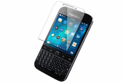 This tempered glass screen protector for BlackBerry Classic is $19.95 today only