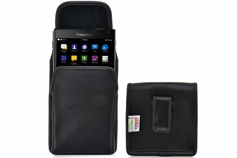 Save $13 on this leather holster for the BlackBerry Passport