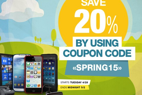 Save 20% on accessories for BlackBerry Passport, Classic, Z10 and more!