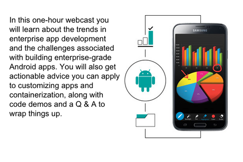 Watch the 'Building Secure Android Apps for the Enterprise' webcast replay