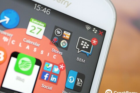 BlackBerry pushes out a bug fix update for BBM