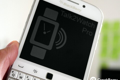 Talk2Watch Pro updated with support for the Pebble Time Round