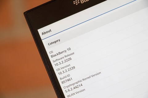 Several Canadian carriers have now officially released BlackBerry OS 10.3.2