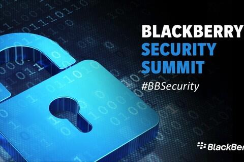 BlackBerry Security Summit 2015 Live Blog!