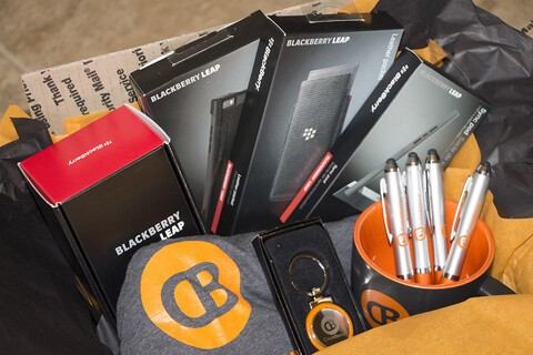 Enter to win a BlackBerry Leap and more!