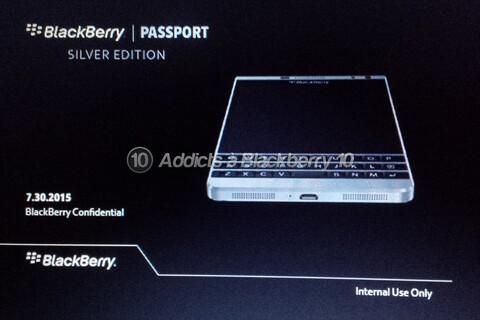 BlackBerry Passport Silver Edition