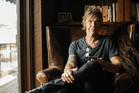 Rock Legend, Author, Father - Duff McKagan stays a step ahead with BlackBerry