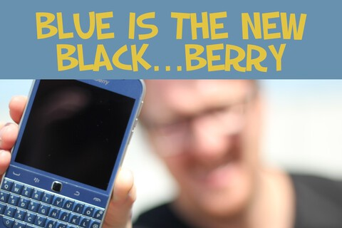 Contest Reminder: Last Chance to win a BLUE BlackBerry Classic!