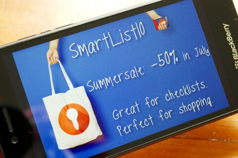 SmartList10 on sale during the month of July