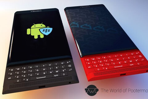 BlackBerry Venice slider rendered in multiple colors, which do you prefer?