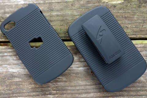 This hard case and holster combo for the BlackBerry Q10 is just $4.95 today
