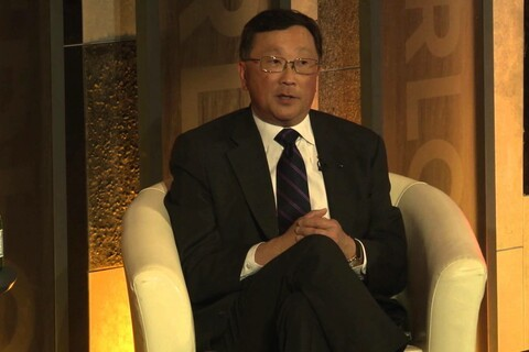 BlackBerry CEO John Chen on what's most important for any business