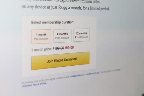 Kindle Unlimited India