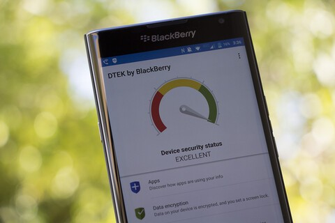 DTEK by BlackBerry app updated with minor bug fixes