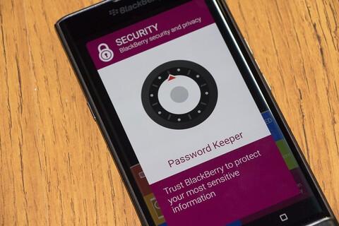 BlackBerry Password Keeper for Priv