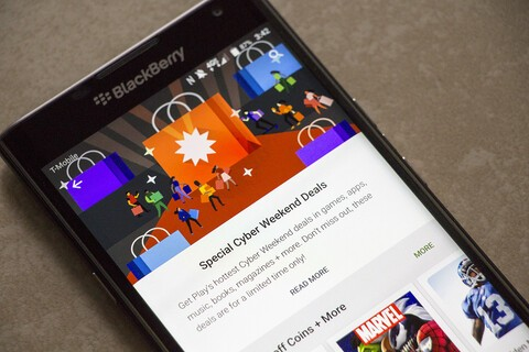 Google Play's Cyber Weekend sale brings tons of deals on apps, games, music and more