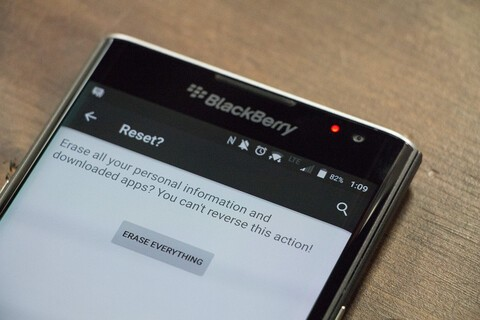 How to Factory Reset your BlackBerry Priv