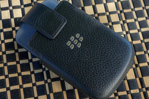 Save big today on BlackBerry Q10 leather holsters — now only $8.95!