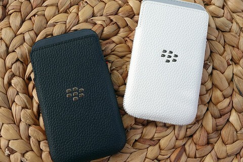 BlackBerry Classic leather pocket pouches are over 50% off today!