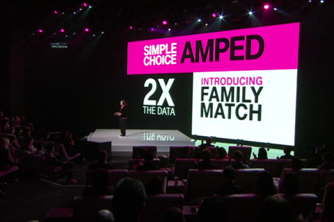 T-Mobile's Un-carrier X brings double the data to families