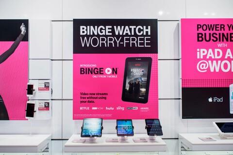 T-Mobile adds new BingeOn partners