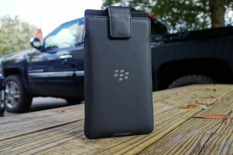 This leather holster will keep your BlackBerry Priv safe on your hip for $19.95 today!