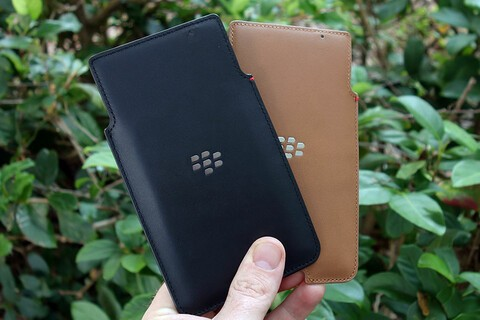 Save $23 on this leather pocket for the BlackBerry Priv today!